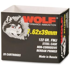 500 Rounds of 7.62x39mm Ammo by Wolf